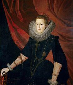 Margarita de Austria, esposa de Felipe III, pintada por Juan Pantoja de la Cruz
