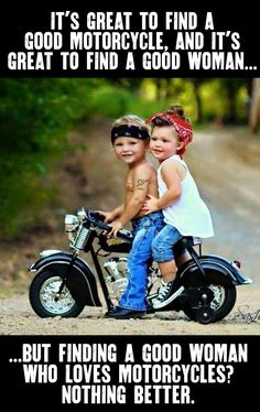 Get on Robin, we're going for a ride! Go on Robin, we go out ! Harley Bikes, Harley Davidson Motorcycles, Triumph Motorcycles, Harley Davidson Quotes, Biker Chick, Biker Girl, Easy Rider, Motorcycle Memes, Motorcycle Garage