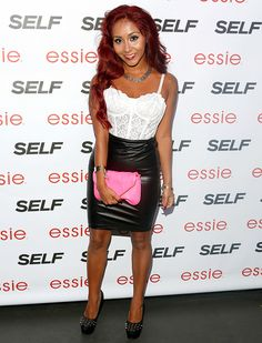 """Nicole """"Snooki"""" Polizzi attends Self Rocks the Summer Event on July 16"""