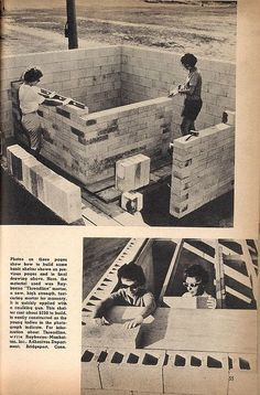 Build your own shelter - from the 1962 Fallout Shelter Handbook