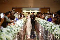 Decoração clássica para cerimônia de casamento