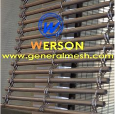 generalmesh Architectural  mesh,architectural wire mesh,Architectural Woven Wire Mesh,architectural mesh wall cladding,Wall Cladding with Architectural Mesh,veranda screen | cable mesh type  ---Hebei general metal netting Co.,ltd  Material :stainless steel  Mesh type : cable mesh type application :Balustrades, façades, brise soleil, cladding,security panels,ceilings and drapes. Email: sales@generalmesh.com Skype: jennis01 Wechat:13722823064