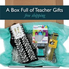 The perfect holiday gift for teachers. Get one box of handpicked gifts or a subscription to the Pampered Teacher Box. Subscriptions come quarterly (4 times a year - back to school, Holiday, Spring and Summer). Boxes include fashion accessories, classroom appropriate jewelry, beauty products, cute classroom supplies and inspirational teacher quotes. It's a great way to show appreciation and say thank you from the students, parents or PTA.