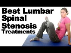 Top 5 Lumbar Spinal Stenosis Exercises & Stretches – Ask Doctor Jo Lumbar spinal stenosis can press on the spinal cord and the nerves that travel through the spine. Symptoms include pain or cramping in the legs when standing … source Spinal Stenosis Treatment, Lumbar Spinal Stenosis, Stenosis Of The Spine, Lumbar Exercises, Scoliosis Exercises, Hamstring Stretches, Arthritis Exercises, Best Lower Back Exercises, Lumbar Pain