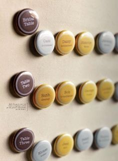 button escort cards