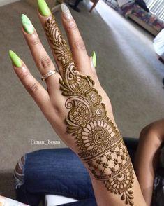 Henna Hand Designs, Mehndi Designs Finger, Latest Arabic Mehndi Designs, Back Hand Mehndi Designs, Latest Bridal Mehndi Designs, Mehndi Designs Book, Mehndi Designs For Girls, Mehndi Designs For Beginners, Unique Mehndi Designs