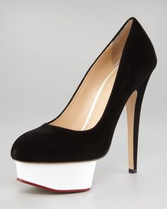 CHARLOTTE OLYMPIA HEELS I should have one of their collection