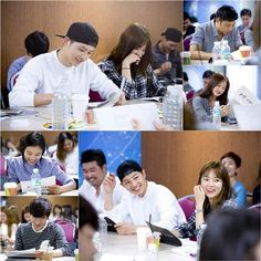 Song Hye Kyo and Song Joong Ki are all laughs at script reading for 'Descendants of the Sun' | allkpop.com