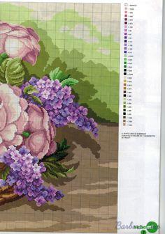 Gallery.ru / Foto # 2 - Cesta de flores - mila010154