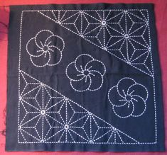 I want to start learning sashiko