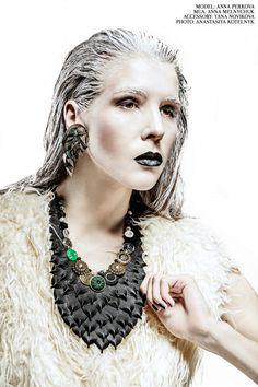 Girl like a bird. Fashion photoshoot with creative make up and accessories. Фотограф в Киеве, Украине - Анастасия Котельник http://www.kotelnyk.com #fashionфотограф #fashion #креативная фотосессия #фотограф #makeup #beauty #студийная съемка #фотосессия в студии #kiev #woman #hairstyle #style #creative #portrait
