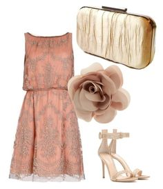 Gold by jaimevd on Polyvore featuring Gianvito Rossi and Accessorize