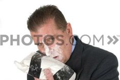 Asshole boss seductively staring while holding a bunch of cocaine?