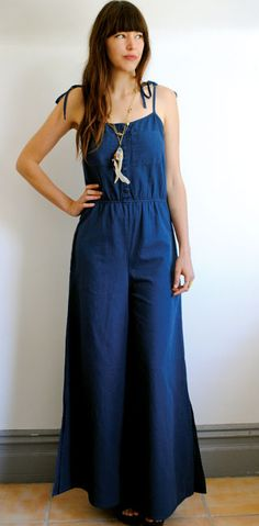 jumpsuit-- I think I can make this on my sewing machine.  New look for the summer!!!