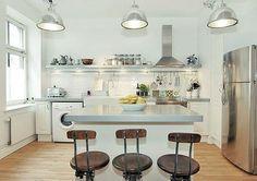 apliques de luz para la cocina - Buscar con Google