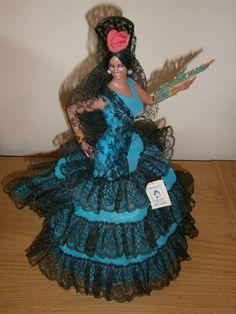 Spanish flamenco doll Marin Chiclana Soraya with box