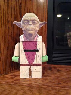 Lego Yoda Valentine Box