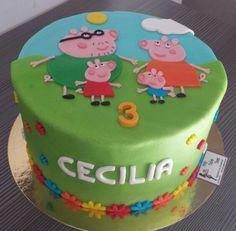 Tarta Peppa Pig familia