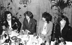 Fans have been speculating for weeks but now it is confirmed. The Rolling Stones will perform at the Pinkpop Festival in the Limburg country-side, on Saturday, June 7th, 2014. In past the Stones performed several times in Amsterdam. Here a dinner party of the band in 1973 in Amsterdam. #therollingstones #amsterdam