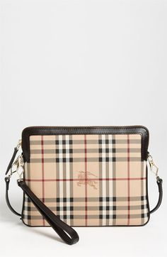 Burberry 'Haymarket Check' iPad Crossbody Bag available at #Nordstrom