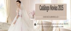 Nueva #ColecciondeNovia2015  Consigue GRATIS nuestro catálogo digital de #vestidosdenovia Magia, dulzura y elegancia para unos diseños que  te harán soñar