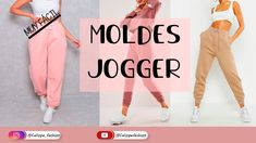 Fashion Sewing, Diy Fashion, Fashion Outfits, Joggers Outfit, Clothing Hacks, Couture, Pants Pattern, Clothing Patterns, Barbie