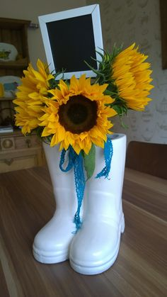 First attempt at welly festival centrepieces will be adding some gyp.