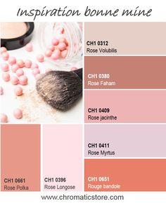 Une gamme de teintes inspirées des palettes de blush pour des ambiances légères et sophistiquées toutes en luminosité. www.chromaticstore.com #inspiration #deco #rose #blush