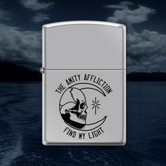 Find My Light Chrome Zippo Lighter