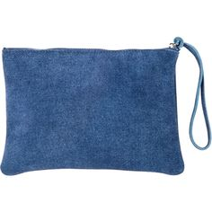 Zara Home Denim Toiletry Bag (21 CAD) ❤ liked on Polyvore featuring beauty products, beauty accessories, bags & cases, bags, clutches, accessories, indigo, makeup purse, make up purse and cosmetic bag