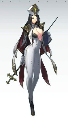 cleric with with the most beautiful virgin breasts, soonjae hong Dark Fantasy Art, Fantasy Women, Anime Fantasy, Fantasy Girl, Fantasy Character Design, Character Art, Character Inspiration, Anime Art Girl, Manga Girl
