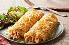 Homemade enchiladas with fresh-tasting salsa verde on a weeknight? Yes, you can!
