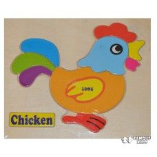 Puzzle lemn - Gaina Tweety, Chicken, Toys, Fictional Characters, Art, Activity Toys, Art Background, Clearance Toys, Kunst