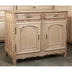 Antique Country French Buffet #Antique  #Buffet