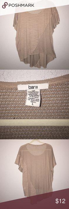 Bar III Oversized Tee Super cute! Bar III Tops Tees - Short Sleeve