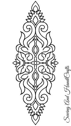 Paisley Embroidery, Embroidery Online, Embroidery Motifs, Japanese Embroidery, Hand Embroidery Designs, Page Decoration, Wreath Drawing, Pencil Design, Leather Carving