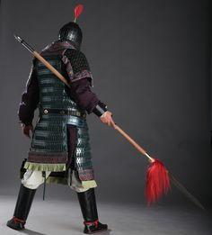 Tang Dynasty lamellar armour. Armourer: 蒼凝君 of 沐風國甲/紅雲軒
