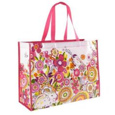 Vera Bradley Market Tote in Clementine or Fanfare Colors My Market febb5df4bed48