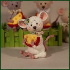 Грушки И ДелкиPRO. Вязаные крючком.: Мышите, не мышите.. или обо всём понемногу...