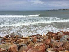 St Francis Bay beach at high tide Beach Holiday, Holiday Travel, High Tide, St Francis, Fishing Villages, South Africa, Coastal, Saints, Water