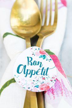 Bon Appetit! Egg Brunch Printable