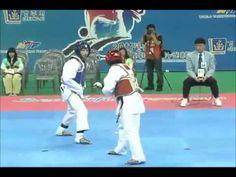 Taekwondo Peleas Increibles - YouTube
