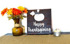 Aloha Artisans has created a new holiday collection, featuring Thanksgiving-themed products. Our Happy Thanksgiving wooden sign is the perfect addition to your home to add some holiday flair to any room. Buy it by itself, or purchase one of our bundles and save on shipping. Each one of our up-cycled signs is hand cut, sanded, painted and then dried on our lanai by the Hawaiian Sun. This piece was stained with Kona stain and the text was hand-painted with white acrylic paint. We finish and…