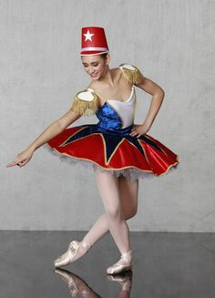 TOY SOLDIER COSTUME BALLET / DANCE/THEATER COSTUME Nutcracker Collection http://www.georgiegirlcostumes.com/ 1-800-292-1902