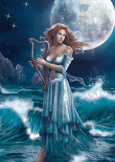 "Eudora (pronounced you-DOR-uh) is the Greek Goddess of Heavy Rain. She is one of the Okeanides, the 3000 daughters of Tethys and Okeanos, Goddess and God of the Oceans. The Okeanides were responsible for fresh water sources, whether from the earth (such as springs and rivers) or from the sky (such as clouds and rain). Eudora's name means ""good gifts."""
