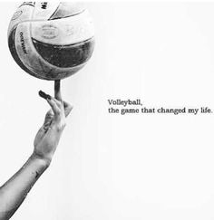 Volleyball is an amazing sport! you have to be a leader an encourager, you can never be afraid of failing give it all you got! #volleyball♥