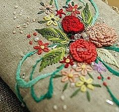 #Embroidery#stitch#needlework #프랑스자수#일산프랑스자수#자수 #only love.~ ~