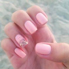 47 Mejores Imágenes De Uñas Rosa Pink Nails Pretty Nails Rose
