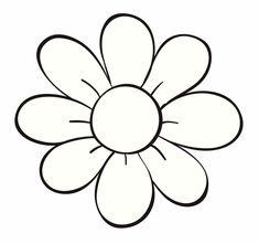 bloem kleurplaat kleuters afscheid bloem