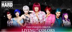 Cabelos coloridos com 7 tons vibrantes: descubra a linha Hard Color da Kert on http://furiarosa.com